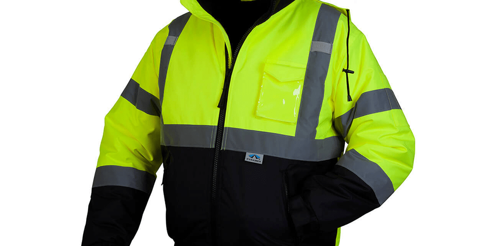 HI-VIZ Bomber Safety Jacket